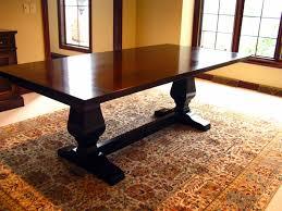 farmhouse style dining table european with elegant glossy farm