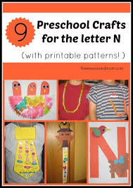 62 best letter n crafts images on pinterest alphabet crafts abc