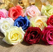 Wholesale Roses Silk Rose Head Flowers Wholesale Rose Heads Artificial Flowers