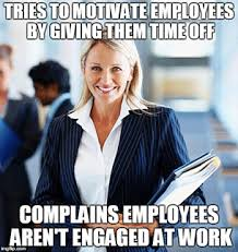 Workplace Memes - difference between workplace happiness and employee engagement