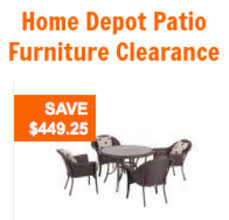 Outdoor Furniture At Home Depot by Home Depot Patio Furniture Clearance 50 60 Off Hampton Bay Sets