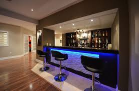 Finished Basement Bar Ideas 21 Stunning Modern Basement Designs Modern Basement Basements