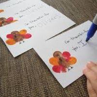 preschool thanksgiving card crafts divascuisine