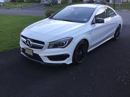 mercedes cla45 amg for sale 2014 45 amg for sale 22k amg drivers package carbon