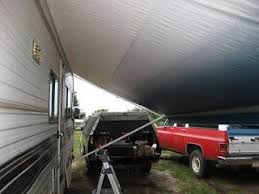 Trailer Awning Fabric Replacement The 25 Best Rv Awning Fabric Ideas On Pinterest Camper Awnings