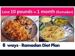 quick weightloss lose 10 pounds in 1 month during ramadan 8