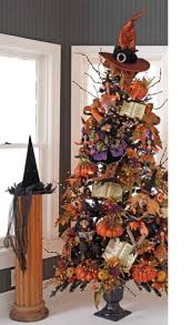 black halloween tree halloween clearance decorations scary