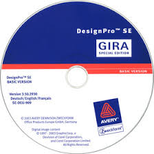 avery design pro gira designpro edition gira inscription software