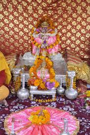 idol of lord raghunath presiding deity of famous kullu dussehra