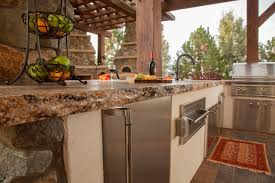 Colour Designs For Kitchens by Granite Countertop Dark Cherry Cabinets Images For Backsplash