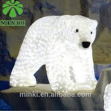 minki 1 1m white polar figure led lights outdoor