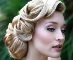 wedding hair updo for older ladies bride s retro finger curls old hollywood glam bridal hair ideas