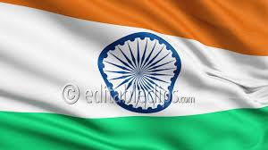 Indian Flag Standard Size Realistic 3d Seamless Looping Hd 1080 Editable Clips