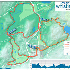 Whistler Canada Map by Event Weekend Whistler 50 Relay U0026 Ultra