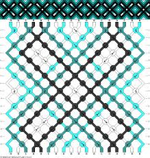 diamonds friendship bracelet images Friendship bracelet pattern easy diamonds dots cross lines jpg