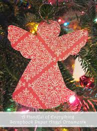 scrapbook paper angel ornaments jpg