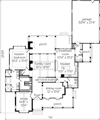 floor plans southern living shook hill mitchell ginn southern living house plans house