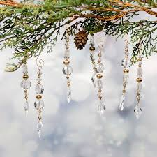111 best icicle ornaments images on beaded