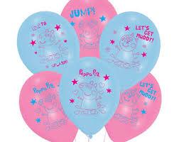 pig balloons pig balloons etsy