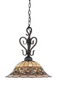 Hanging Lamps Lighting 362 Va Tiffany Buckingham Hanging Lamp