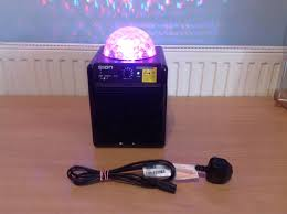 ion portable speaker system with party lights ion party power portable speaker system with party lights