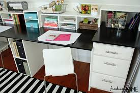 Diy Office Desks Easy Diy Built In Desk Tutorial Finding Home Farms