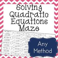 walk around activity solving quadratic equations using square