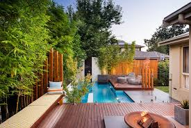 Backyard Swimming Pool Designs Cozy Swimming Pool Designs With Relaxing Scenery Ruchi Designs