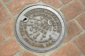 water meter new orleans new orleans water meter cover stock image image of cast locked