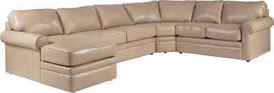 Tan Brown La Z Boy by Sectional Sleeper Sofa With Full Mattress By La Z Boy Wolf And