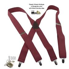holdup suspenders introduces the low cost classic series braces in