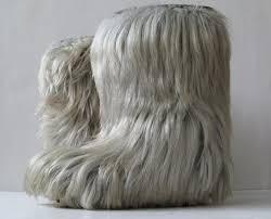 womens fur boots size 11 closet goat fur yeti boots jimmy choo fur boots