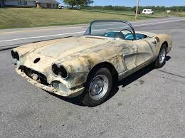 1961 corvette project for sale 1959 chevrolet corvette convertible project project cars for