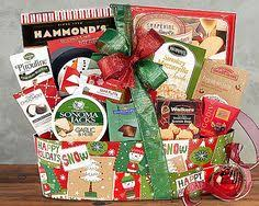 golden holiday gourmet christmas gift basket by gift baskets etc