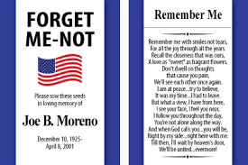 forget me not seed packets patriotic memorial forget me not seed packets gloria s garden