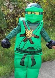 homemade green lego ninjago costumes halloween spooktacular