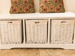 Wicker Storage Bench 24 Shabby Chic Storage Bench Unusual Shabby Chic Telephone
