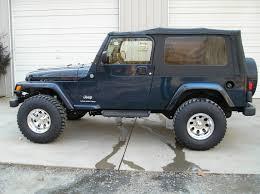 grey jeep rubicon lifted customwork