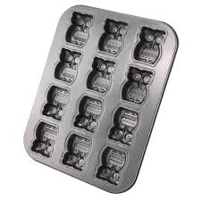 amazon com owl baking pan home u0026 kitchen