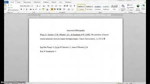 annotated bibliography template word NourElec