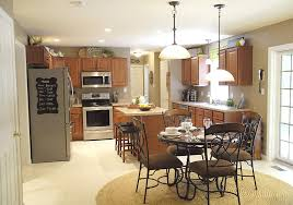 Country Kitchen Ceiling Lights by New Lights In The Kitchen Living Rich On Lessliving Rich On Less