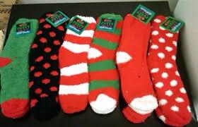fuzzy christmas socks fair trade chocolate wanggukclothing