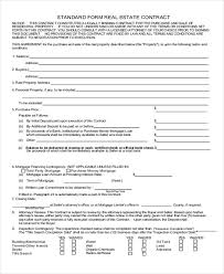 sample house sale contract 9 examples in word pdf