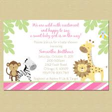 baby shower wording for jungle theme safari theme baby shower
