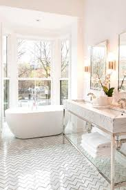Bathroom Floor Tile Impressive White Bathroom Floor Tile Ideas Patterned Geometric