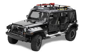 white and pink jeep amazon com warrior products 877 safari sport rack for jeep jk 07