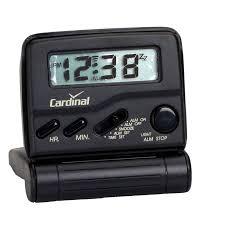 travel clock images Cardinal bluelight travel alarm clock london drugs JPG