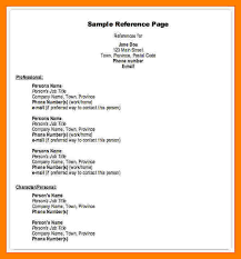 Reference Page For Resume Sample by 4 References Resume Examples Authorize Letter