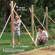 How To Build A Backyard Swing Learn How To Construct A Custom Fence And How To Build A Gate