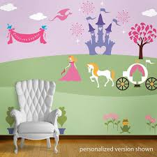 fairy wall stencil kit for girls room theme mural perfectly princess bedroom wall mural stencil kit